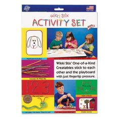 Wikki Stix Activity Set  - Award-winning non-toxic modeling activity