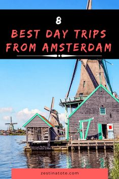 Beyond Amsterdam, explore the country with some easy day trips that are fun for the family! 8 amazing ideas on day or weekend trips from Amsterdam. Backpacking Europe, Europe Travel Guide, Travel Guides, Day Trips From Amsterdam, Amsterdam City, Amsterdam Travel, Amsterdam Info, Visit Amsterdam, Europe Destinations