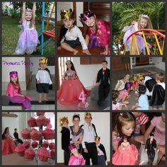 Eliana's 4th birthday party, Princess theme.
