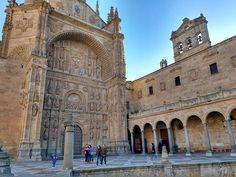 La fachada del Convento de San Esteban de Salamanca