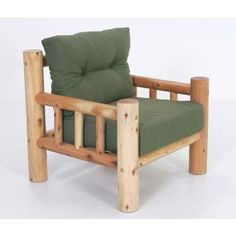 Moon Valley Rustic Classic Chair - Frame Only #LogFurniture
