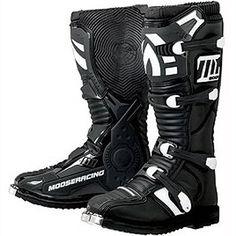 Moose Racing M1.2 MX Boots Black (Size 10 3410-0803)  #AutomotivePartsAndAccessories