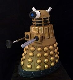 Dalek cake from Doctor Who.  EXTERMINATE!!!!