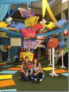 Dr. Seuss, Huge Party Decoration ideas