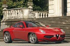 Alfa Romeo Disco Volante wins public award for prototypes.  Most appealing car at the Concorso di Eleganza di Villa dEste