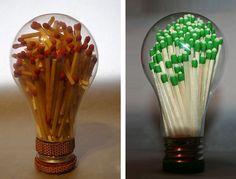 Fósforo na lâmpada