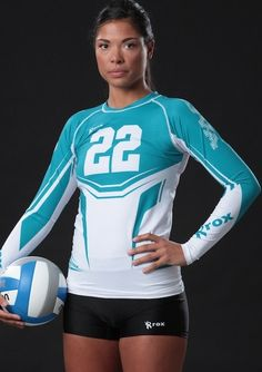 Get creative with your team with a sublimated jersey. Start custom designing your next team volleyball uniform with our design studio . Choose from over 40 colors and have a unique team jersey this season Volleyball Poses, Volleyball Uniforms, Volleyball Shorts, Team Uniforms, Volleyball Pictures, Volleyball Team, Posh Clothing, Corpo Sexy, Suit Shirts