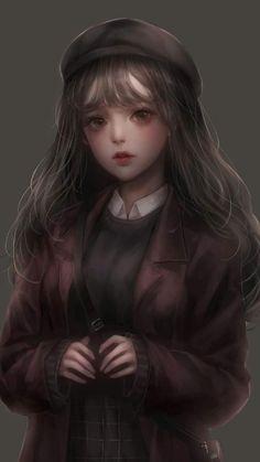 44 Trendy Ideas For Baby Cartoon Anime Girly Art, Manga Girl, Cute Art, Art Girl, Realistic Art, Art, Anime Characters, Anime Drawings, Digital Art Girl