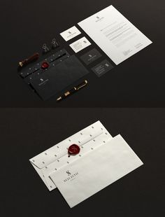 Suzi Zutic Jewels Stationery Items #branding #visualidentity #logodesign #corporateidentity #stationery