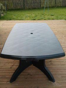 Comment peindre chaise ou table de jardin en PVC | rénovation pvc ...