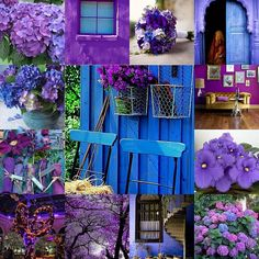 Inspired purple... love these colors