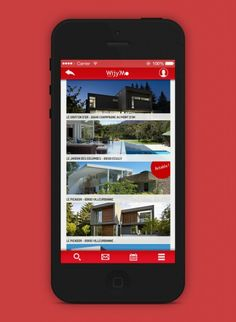 App Design : Wijy'mo #Descode Champagne, App Design, Projects, Gardens, Log Projects, Blue Prints, Application Design