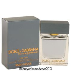 86c7592069194 The One Gentlemen by Dolce   Gabbana 1 oz EDT Cologne Spray for Men New in  Box click picture to enlarge The One Gentlemen Cologne By Dolce   G