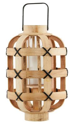 Photophore Bamboo / Photophore Naturel - House Doctor - Décoration et mobilier design avec Made in Design