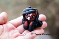 "Bay Pony ""Percy"" by TumbleCreatures on Etsy https://www.etsy.com/listing/213159753/bay-pony-percy"