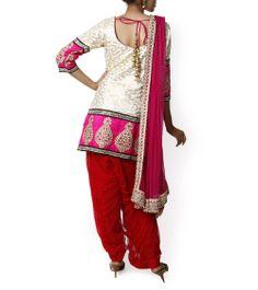 White Salwar Kameez