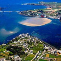 Ria do Eo. Ribadeo. (Lugo). Galicia. Spain.