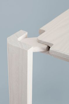 Steffen Kehrle . Industrial Design #furniture #table #detail #design Craftpro router  / cutters used for joints.... http://pinterest.com/woodfordtooling/craftpro-router-cutters/