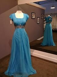 Modest prom dress Celestial Gowns- Modest Gowns, Modest Prices