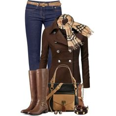 fall style... I think cute basic Jeans..Of course they are they are Tori Burch. I even love her Jeans!