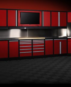 Metal Cabinets Designed and Built for Your Garage | Baldhead Cabinets