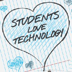 Students love technology then students will learn!