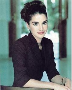 Queen Rania hairstyle