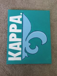 Kappa Kappa Gamma canvas