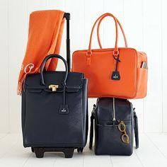 Audrey Boarding Bag- Mark and Graham...I'm pining for the orange one! Amazing.