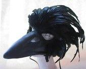 Black Raven Mask