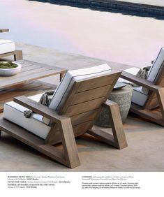 Interesting Outdoor Furniture Design — Home Design Ideas Concrete Outdoor Furniture, Outdoor Furniture Covers, Outdoor Furniture Design, Teak Furniture, Patio Furniture Sets, Diy Furniture Plans, Furniture Sale, Furniture Projects, Outside Furniture