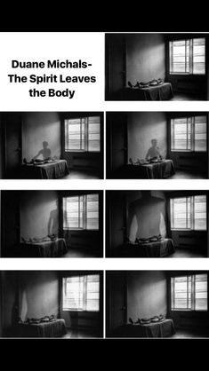 The Spirit leaves the body- Duane Michals Sequence Photography, Photography Pics, History Of Photography, Conceptual Photography, Monochrome Photography, Photography Projects, Photo Sequence, Image Sequence, Duane Michals