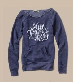 Doctor Who inspired Off the Shoulder Girly Sweatshirt wibbly wobbly timey wimey