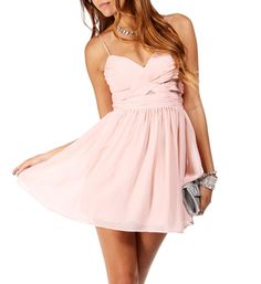 Elly- Short Paradise Pink Prom Dress (homecoming)