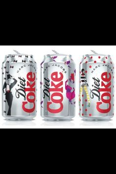 When Marc Jacobs dresses your Diet Coke. via @CFDA