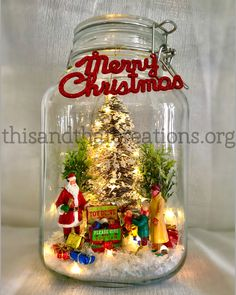 All Things Christmas – This and That Creations Christmas Globes, Christmas Mason Jars, Christmas Lanterns, Easy Christmas Crafts, Christmas Scenes, Christmas Centerpieces, Christmas Projects, Xmas Decorations, All Things Christmas