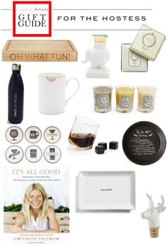 GIFT GUIDE: FOR THEHOSTESS