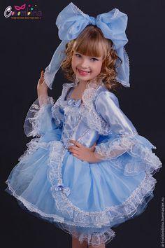 Купить или заказать Костюм Мальвины в интернет-магазине на Ярмарке Мастеров. карнавальный костюм Мальвины для девочки комплектация: платье, болеро, панталоны, бант размер 134-146 +300…