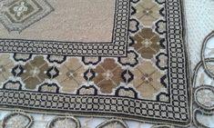 Stitch 2, Cross Stitch, Bohemian Rug, Rugs, Crochet, Ph, Greek, Watch, Home Decor
