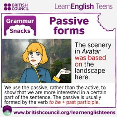 Grammar Snacks: #Passive forms #EnglishGrammar #LearnEnglish @English4Matura