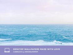 D E S I G N L O V E F E S T » DRESS YOUR TECH / 170 Ocean Wallpaper, Wallpaper Pc, Dress Your Tech, Anime Art Girl, Painting Inspiration, Shades Of Blue, Good To Know, Serenity, Art Prints