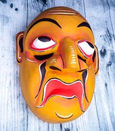 Wood Wall Art Decor, Carved Wood Wall Art, Sculpture Art, Sculptures, Wood Carving Faces, Buddha Wall Art, Ceramic Mask, Tiki Mask, Bird Masks