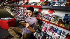 Melbourne comic book store voted world's best. All Star Comics has won the Eisner award for world's best comic store.  Co-owner Mitchell Davies in the Lonsdale Street store.
