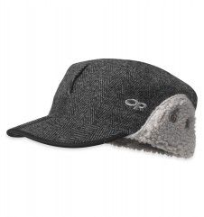 Yukon Cap™  A wool-blend exterior and soft-pile fleece lining provides generous insulation, and buttoned ear flaps fold down for additional warmth when it gets truly cold.