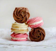 Rose Neapolitan Spritz Cookies!