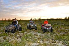 the northern tundra Deline Northwest Territories Canada