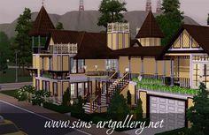 Sweet Browny Apartment http://www.sims-artgallery.net/en/gallery/sims-3/lots/residential-lots/medium/315/