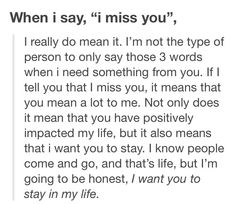 -missing you.