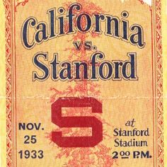 1933 Stanford Football Ticket Coasters.™ Last minute gift ideas. Last minute Father's Day Gifts, Best last minute gift ideas. Ceramic drink coasters made from over 2,000 historic college football tickets and other vintage sports art. #lastminutegifts $29.99 Printed in the U.S.A and shipped within 24 hours. #collegefootball #gifts #footballtickets
