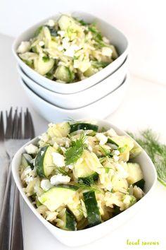 Tzatziki Orzo Salad | LocalSavour.com